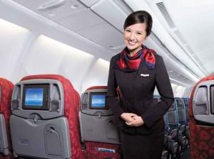 Clever Stewardess…
